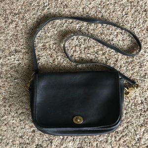 Vintage COACH Leather Penny Pocket Purse